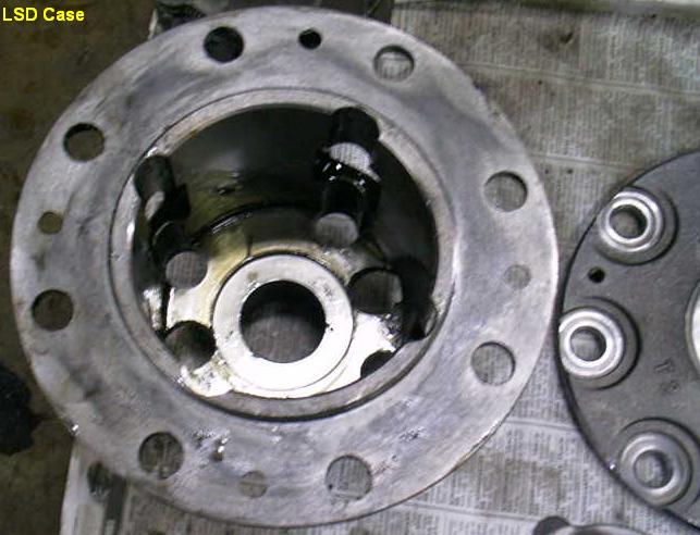 Overhaul TRD 2-way Limited Slip Differential (LSD) for Toyota